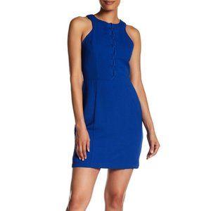 Adelyn Rae Cobalt Blue Sheath Dress Size Large